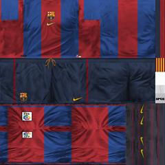 san francisco 184fb c24cd ultigamerz: PES 6 FC Barcelona 1998-99 Classic GDB Kits