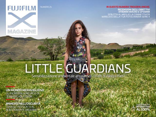 Copertina del Fujifilm X Magazine numero 24