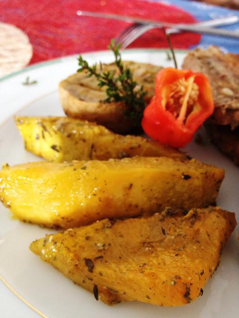 Sweet Kwisine, pomme de terre, giraumon, four, courge, Martinique, cuisine antillaise