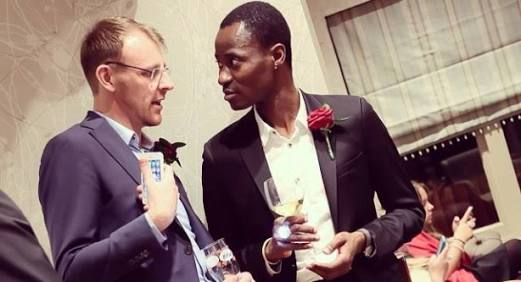 Nigerian Gay, Bisi Alimi, Weds His Oyinbo Partner In London