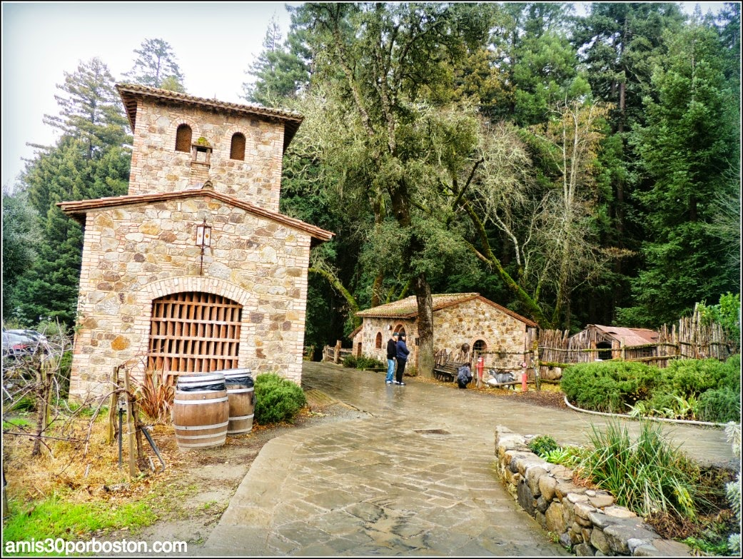 Ruta por las Bodegas del Valle de Napa: Establos del Castello di Amorosa