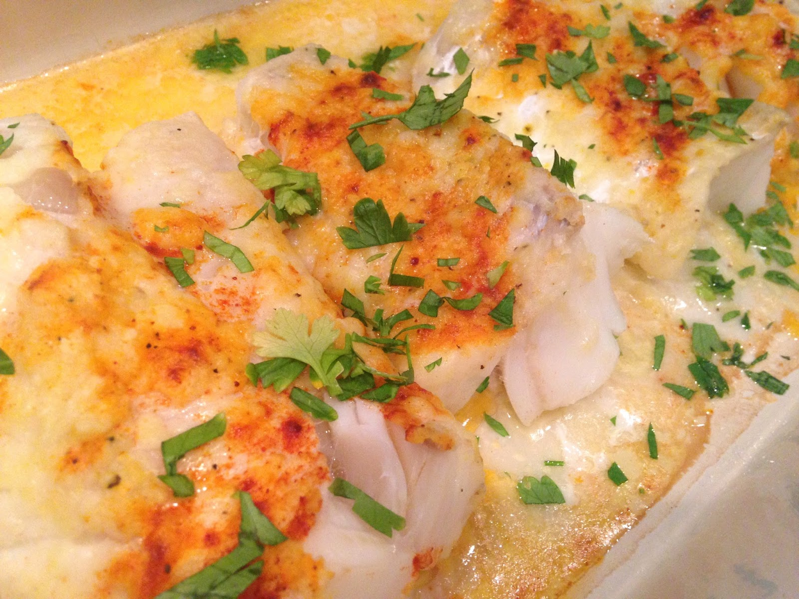 Rita's Recipes: Lemon-Butter Baked Cod
