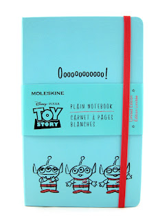 moleskine toy story notebook aliens