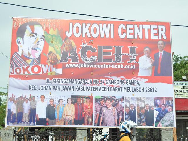 Aktifis Aceh Barat : Bubarkan Jokowi Center Aceh