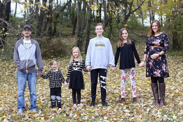 Pregnancy Announcement for Big Families