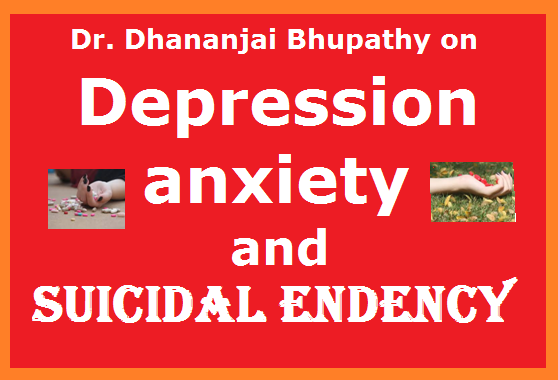 DEPRESSION, anxiety patients with suicidal tendency