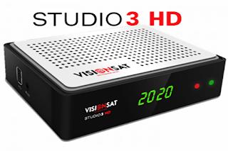 Atualização Visionsat Studio 3 HD V1.36