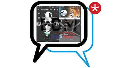 BBM MOD Bleach Special Black v2.13.1.14 Apk Terbaru Gratis