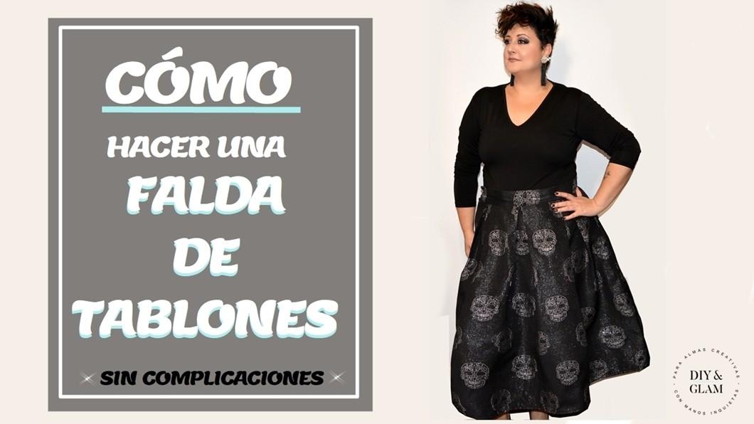 4ea8ba832 Cómo hacer una falda de tablones | Diy & glam