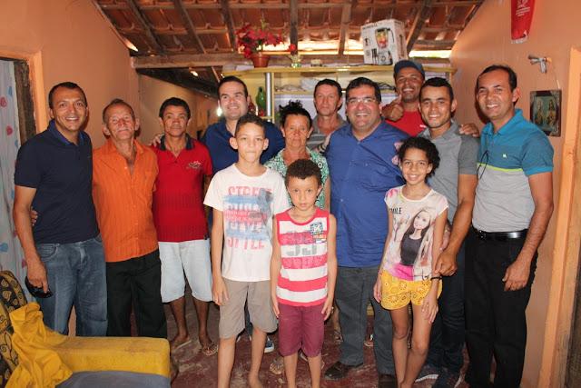 Antonio Henrique Júnior e Cacá Leão são bem recebidos em São Desidério