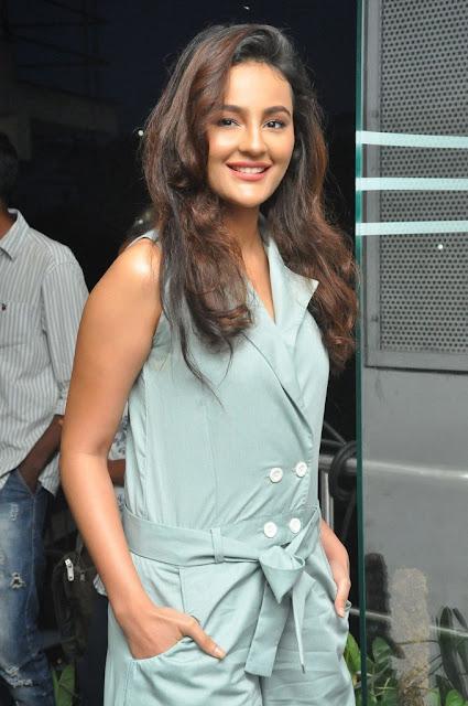 Seerat Kapoor Stills At Raju Gari Gadhi 2 Movie Success Meet