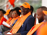This is exactly what RAILA says furtively after KALONZO, WETA and MUDAVADI skipped his oathing ceremony! NASA is DEAD