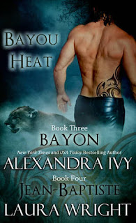 Review: Bayou Heat Bayon & Jean-Baptiste by Alexandra Ivy & Laura Wright