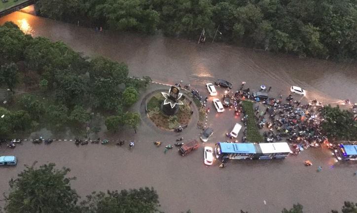 Banjir Jakarta 21 Februari 2017