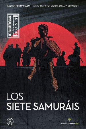 Poster Shichinin no samurai 1954