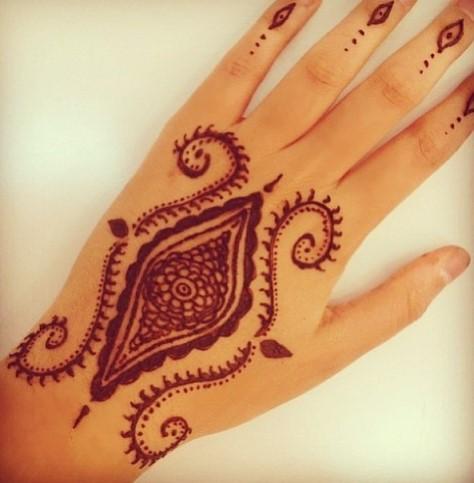 Gambar Henna Tangan Kiri 8