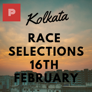 Kolkata Race Selections 16th February