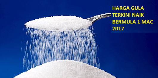 harga gula naik