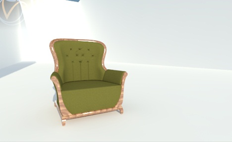 And Here The Result Of The Render Using V Ray .