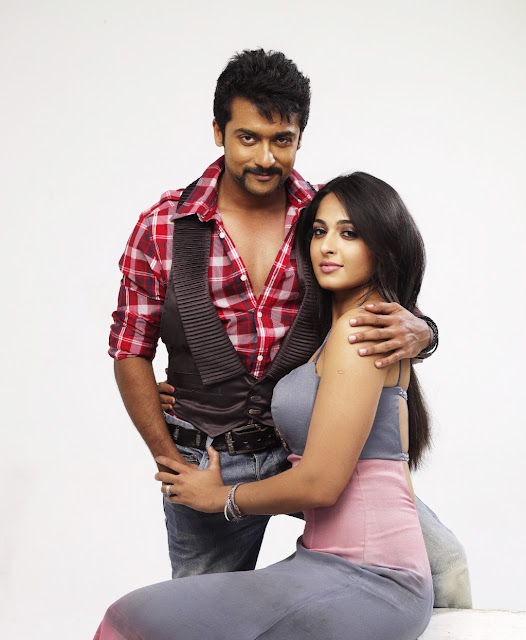 hot actress Anushka sexy with surya