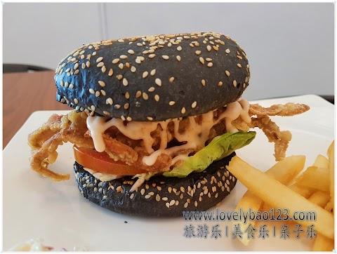【雪隆美食】Desk Restaurant @ Mahkota Cheras| 独家推出创意软壳蟹碳汉堡!(CLOSED)