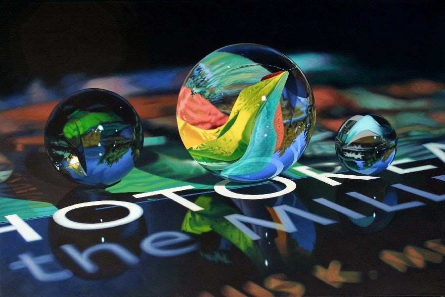 06-Photorealism-at-the-Millennium-Photo-Realistic-Reflection-Paintings-www-designstack-co