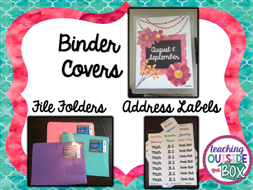 Kiss Your Binders and Hanging Files GOODBYE! - Teach Outside the Box