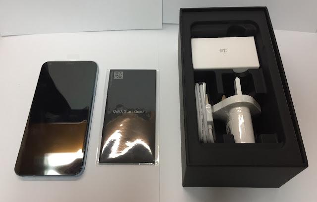 LG Q6 Plus Unboxing