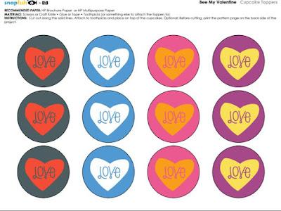 envoltorios de magdalenas para descargar fiesta del amor