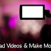 Shoot & Publish Videos To Make Money Online With Youtube & Other Sites