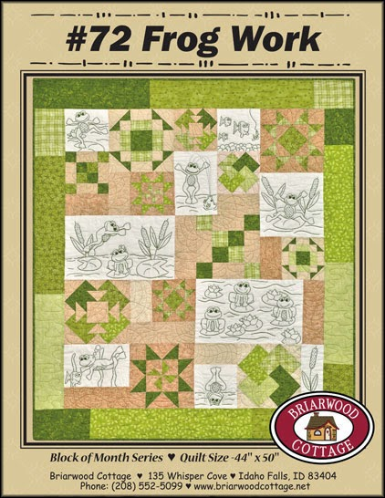 Frog Work Pattern by Briarwood Cottage