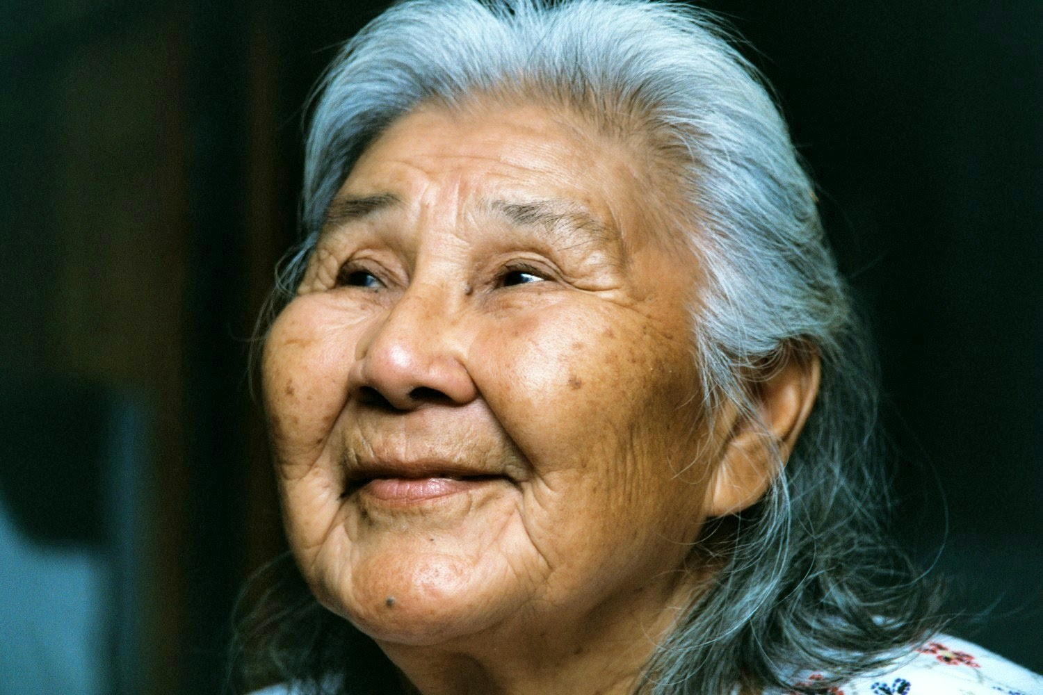Photo of Alaska Native activist Katie John