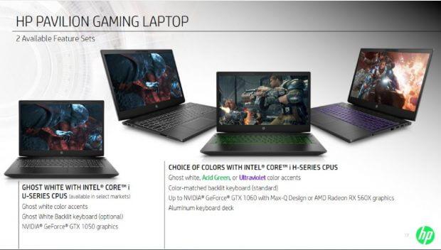 Pavilion laptops
