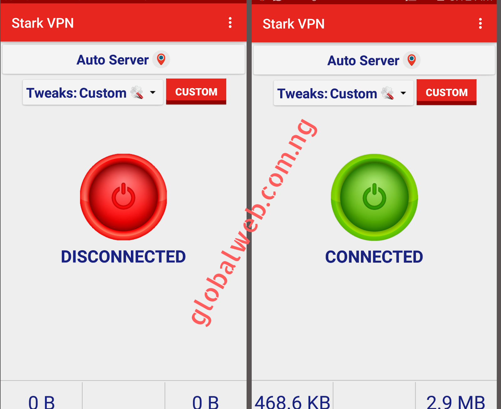Latest Stark VPN Settings for MTN Free Browsing 2019