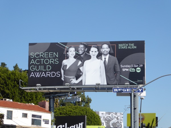 Screen Actors Guild Awards 2017 billboard