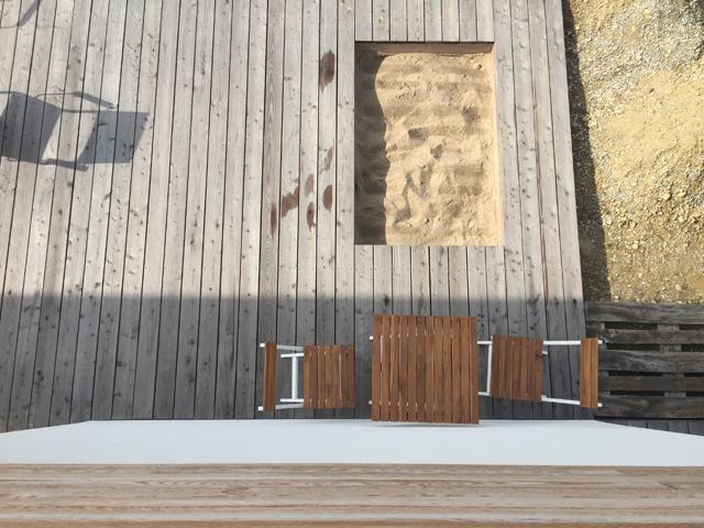 Lärchenholz Terrasse und Schalung am Haus