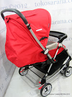 5 Kereta Bayi BabyDoes CH362 Crusader dengan 3 Layer Canopy
