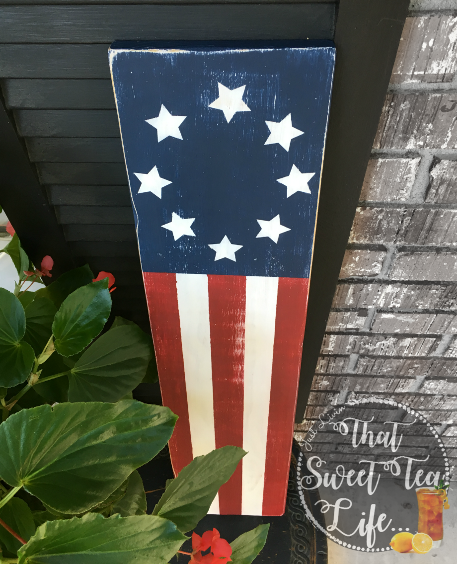 Patriotic Plank Art