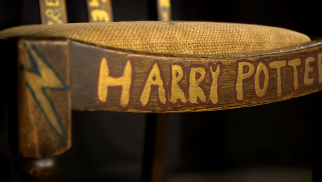 J.K. Rowling's Harry Potter Chair Auction