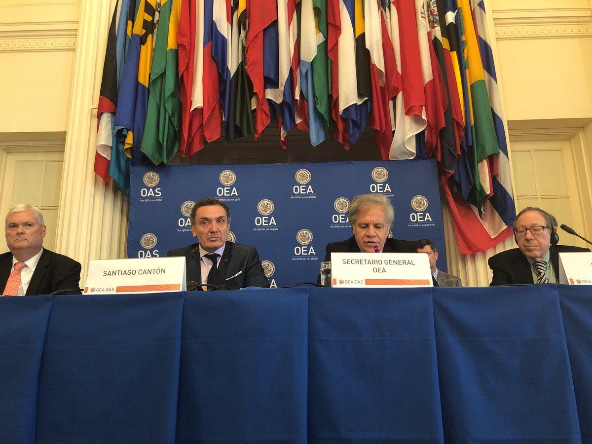 Expertos y juristas se reunieron en la sede de la OEA / TWITTER OEA