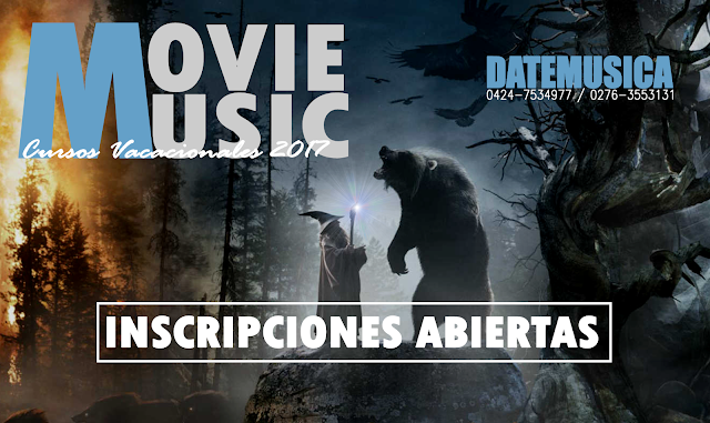 Cursos Vacacionales: Movie Music