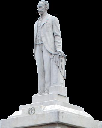 La patria es ara y no pedestal. José Martí