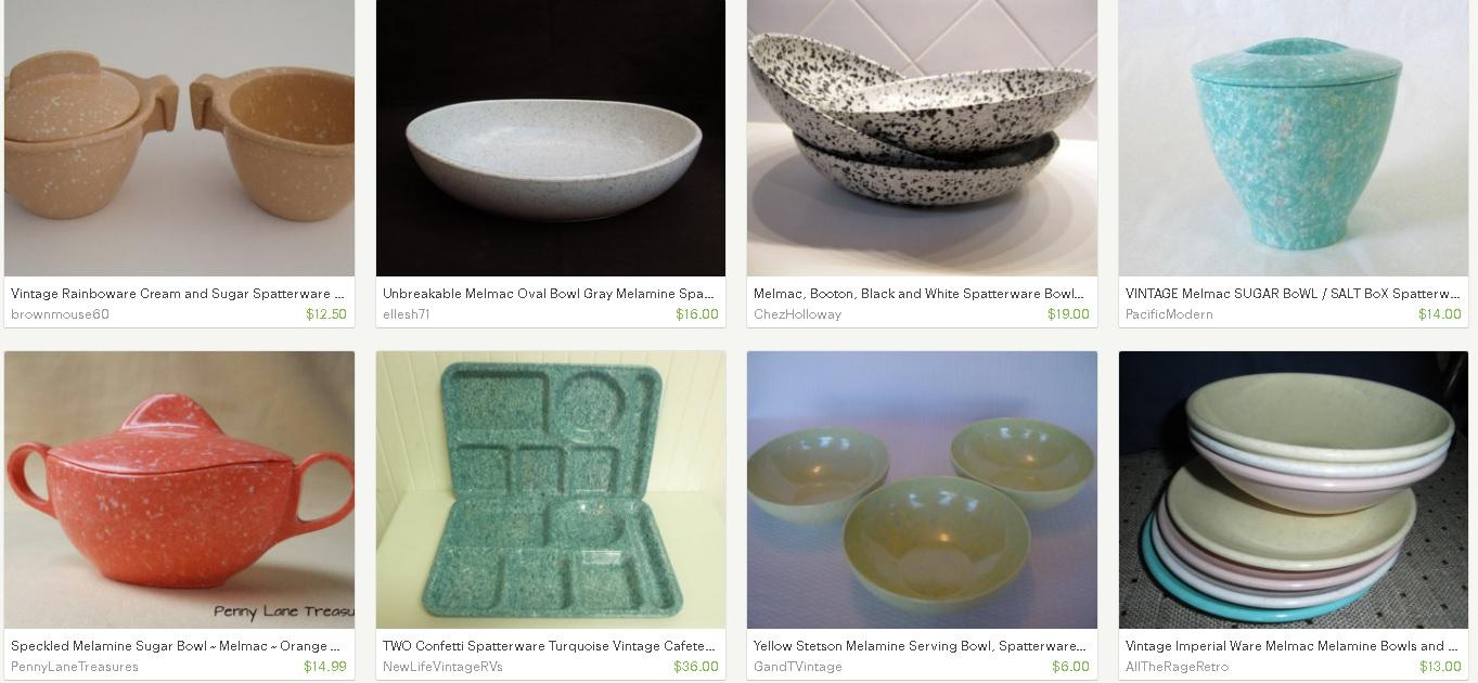 Vintage Plastic Melmac Dinnerware History Melamine : The Making of ...