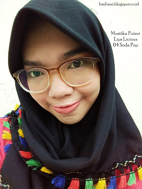 Mustika Puteri Lips Licious Lip Cream Matte (Cotton Candy, Caramel Apple, Pink Lollypop, Soda Pop)