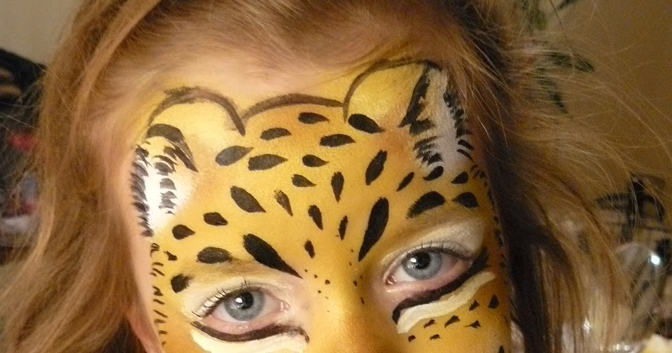 Maremi S Face And Body Painting Face Painting Jaguar Pantera Tygrys Malowanie Twarzy Wzory