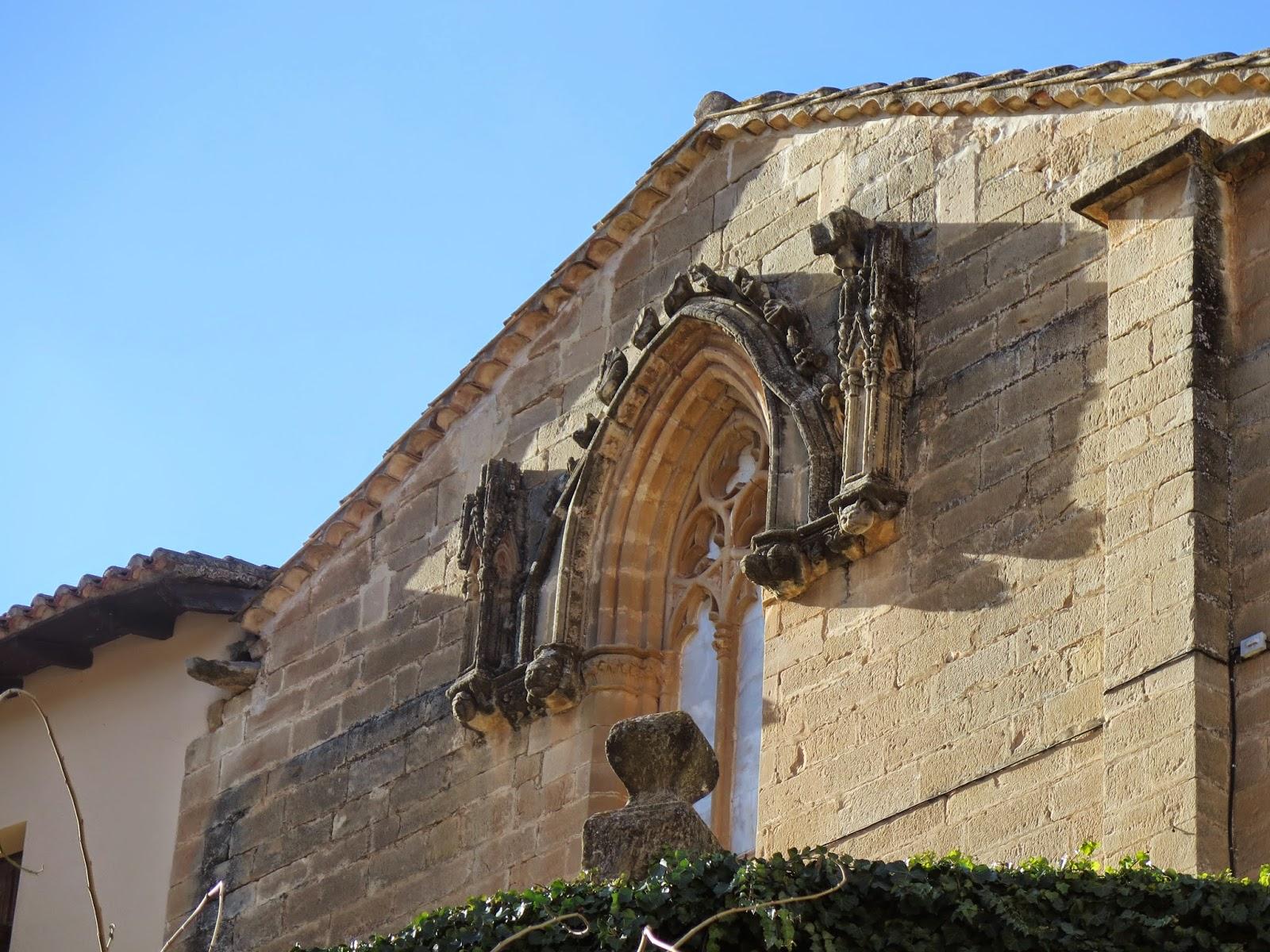 Ventana Gótica Ermita Dalt Peñaroya de Tastavins