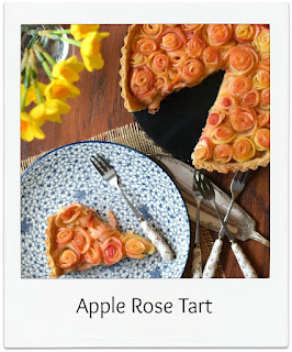 Apple rose tarts are eye catching, resembling a pretty bouquet of roses.  They're just as delicious as any apple pie