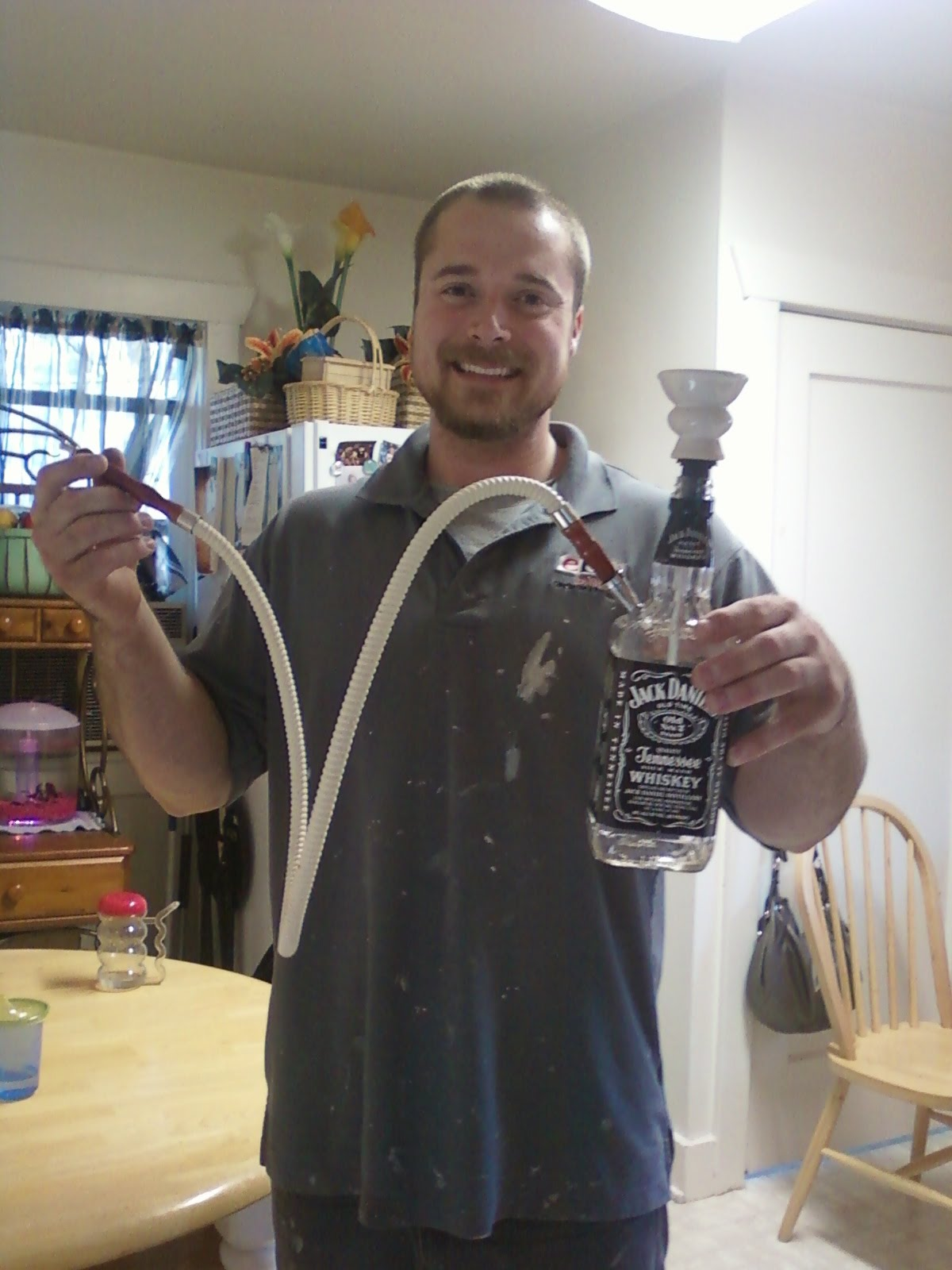 One Creative Mama Homemade Jack Daniels Hookah