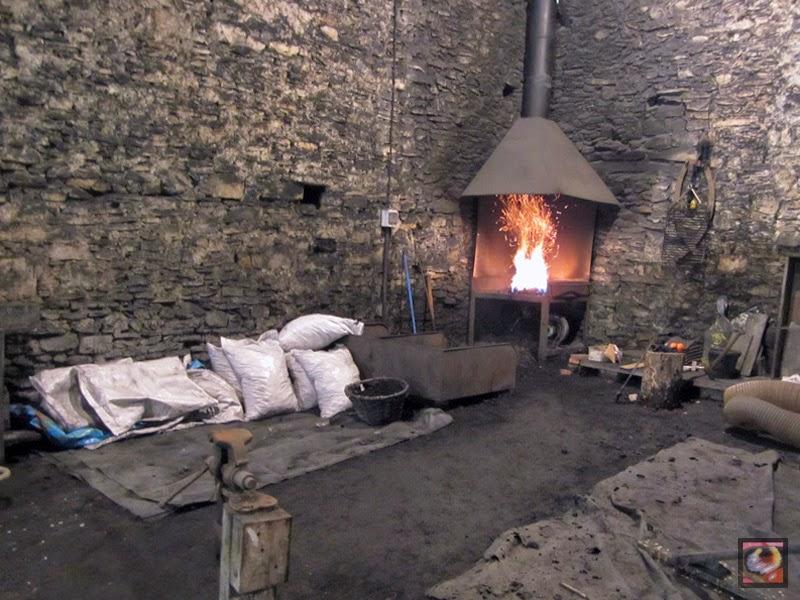 Ferrería y molinos de Agorregi en Aia (Gipuzkoa)