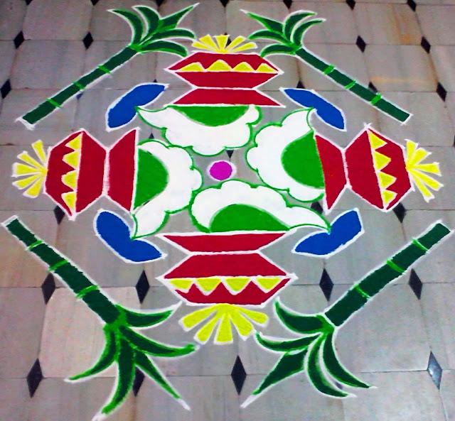 Muggulu designs